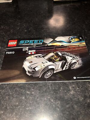 Lego Speed Champions 75910 Porsche Instructions Only • 2.99£