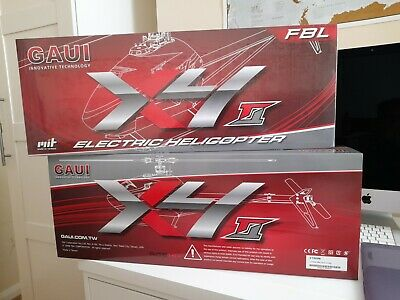 Gaui X4 Ii ***brand New & High Spec Sab Goblin / Msh Protos / Synergy*** • 450£