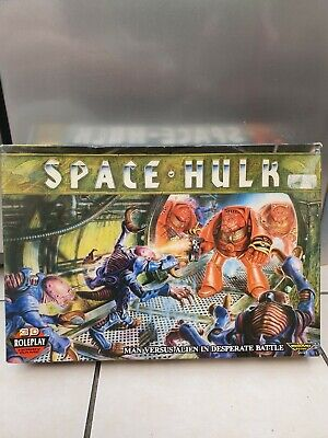 Space Hulk Warhammer 40000 Role Play Game 1st Edition COMPLETE 1989 • 149.99£
