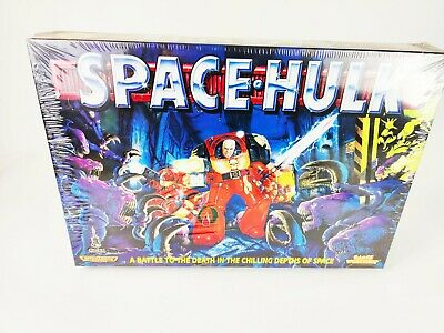 SPACE HULK 2nd Edition BOARD GAME -  BRAND NEW & SEALED [ENG,1996] • 699.95£
