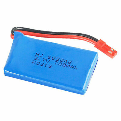 3.7V 780mAh 603048 High Rate LiPo Rechargeable Battery JST Plug RC Quadcopter UK • 5.99£