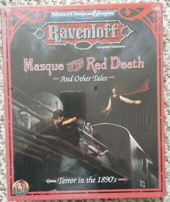 Masque Of The Red Death And Other Tales - Ravenloft Expansion - TSR 1994 - BNIB • 40£