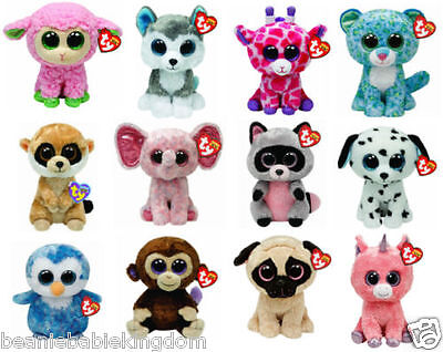 Ty Beanie Boo Boos - Choose Your Favourite Soft Plush Character - 6  Inc (15 Cm) • 8.50£
