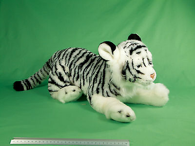 Large 70cm Premium Ark Toys White Tiger Soft Cuddly Toy Plush Stuffed Teddy • 31.99£