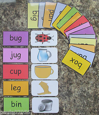 Colours, First Words And Pictures Flash Cards 9.5cm X 5.5cm Learning Read!  • 6.75£