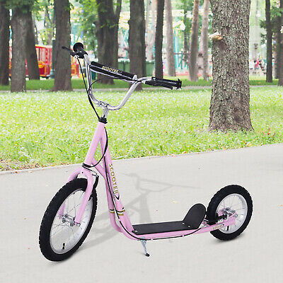HOMCOM Girls Push Scooter Stunt Bike Bicycle Adult Teen Children Sport • 79.99£