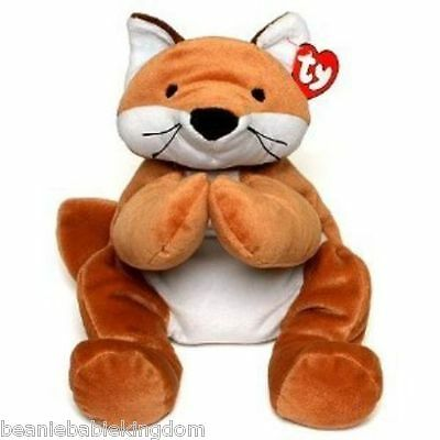 TY PILLOW PAL * FOXY * THE BROWN FOX 03022 Aprox. 14  - 25cm RARE • 24.99£