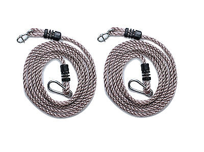 Tree Swing Conversion Extension Rope Fixes A Swing To A Branch Or Wooden Pole • 11.99£