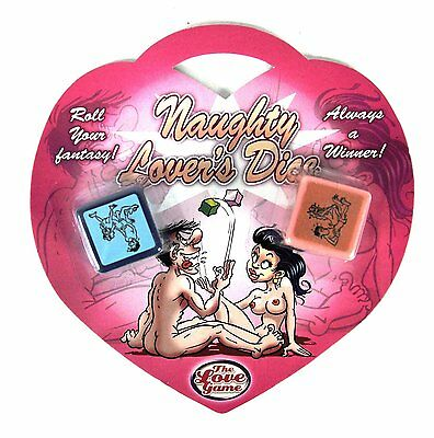 3 Naughty Nights Erotic Dare Love Dice Adult Gambling Couples Sex Party Game Uk  • 5.99£
