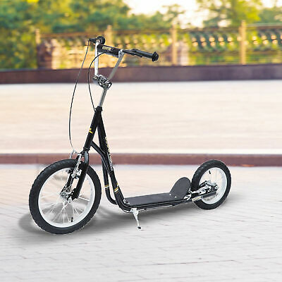 HOMCOM Teen Push Scooter Kids Children Stunt Scooter Bike Bicycle Ride On • 77.99£