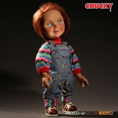 Child's Play Sneering Chucky Talking Mega-Scale Doll Mezco - Official • 89.95£