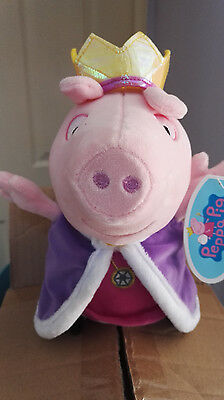 Peppa Pig Royal Princess Peppa Plush Toy - 11  In Height - New & Tagged • 11.99£