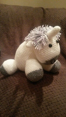 Handmade Crocheted Unicorn • 20£