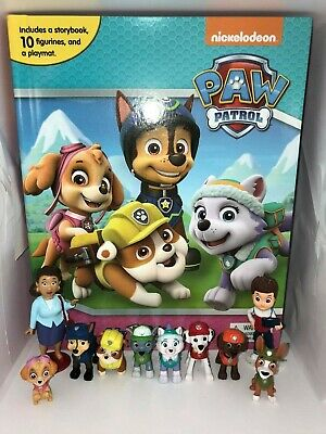 Paw Patrol Girls #2 Busy Book - Story 10 Figures Brand New Uk Stock • 11.99£