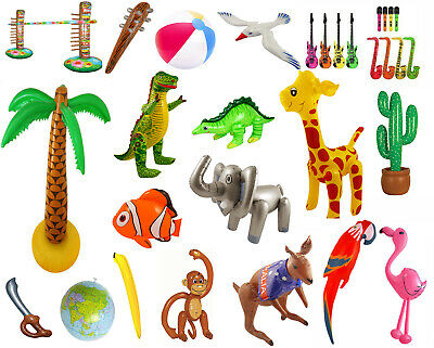 Inflatable Blow Up Party Fancy Dress Beach Animal Accessory Toy Prop Decoration • 2.99£