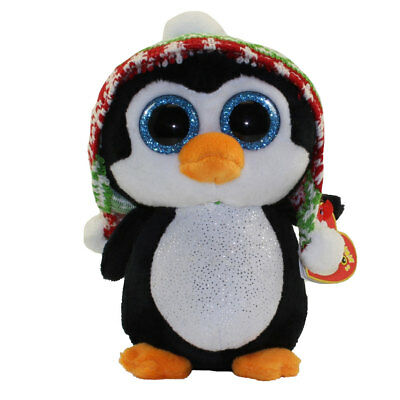 TY Beanie Boo Boos Christmas *** Penelope The Penguin ***  Various Sizes So Cute • 29.95£