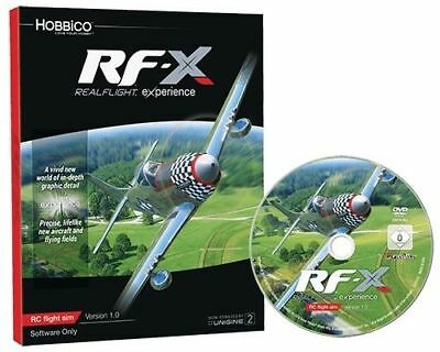 New Great Planes Realflight Simulator RF-X RFX Upgrade Software Only GPMZ4548 • 73.10£