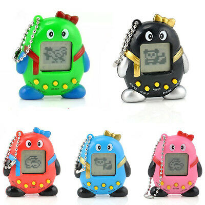 Black/Blue/Red/Pink & Green Tamagochi Cyber Virtual Pet Retro Toy 168 In 1   • 1.99£