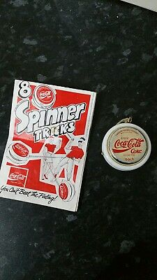 1980s Russell Spinner Coca Cola Yoyo Gold • 85£