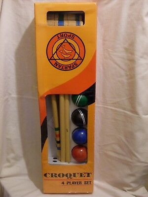 Croquet 4 Player Set (new Boxed) • 39.99£