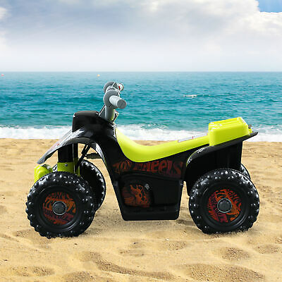 HOMCOM Kids Electric Ride-on Car Motor Bike Off Road Style Black • 51.99£
