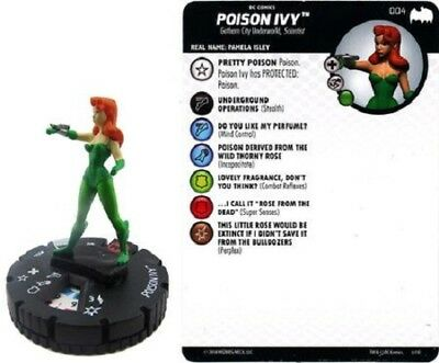 DC Heroclix - Batman: The Animated Series - POISON IVY #004 • 1.50£