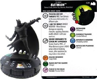 DC Heroclix - Batman: The Animated Series - BATMAN #028 • 2.50£