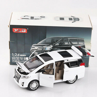 1:24 Scale Toyota Alphard Diecast Model Car Toy Collection Limousine New In Box • 18.99£