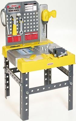 Casdon Little Helpers Toolbox & Workbench 2 In 1 Toy Playset & Accessories • 23.23£