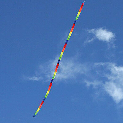 10m Tube Kite Tail Rainbow Windsock Outdoor Kites Flying Toys Outdoor Games • 6.04£