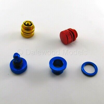 6STAR HOBBY CNC Oil Fuel Dot Filler Plug For Petrol Methanol Gas RC Airplane • 3.75£