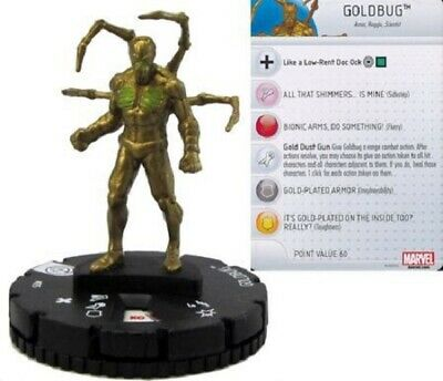 Marvel Heroclix - Civil War Storyline - GOLDBUG #035 • 3£