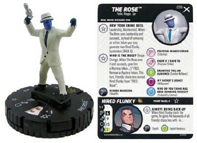 Marvel Heroclix - Earth X - THE ROSE #039 • 4£
