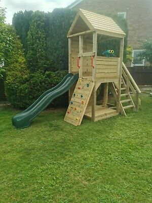 Heavy Duty Children's Climbing Frame 1 Tower *NO Self Assembly Required* • 890£