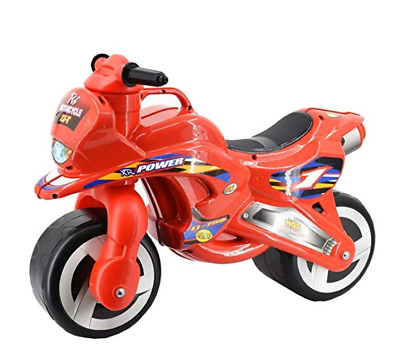 DeAO Ride On Toddlers Balance Motorbike Pedal Free Bike For Children (Red) • 32.99£