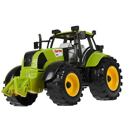 Friction Powered Farm Tractor With Opening Bonnet Gift Children's Kids Play Toy • 7.97£