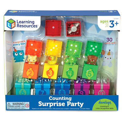 Learning Resources Counting Surprise Party Set Educational Toy • 19.99£