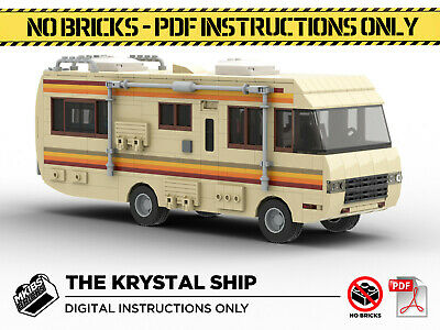 Lego MOC | Breaking Bad RV | The Krystal Ship | PDF Instructions (NO BRICKS) • 6£