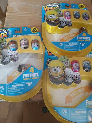 Mighty Beanz Fortnite - Recieve A Bundle Of Packs In This Sale - Set 2 • 14.99£