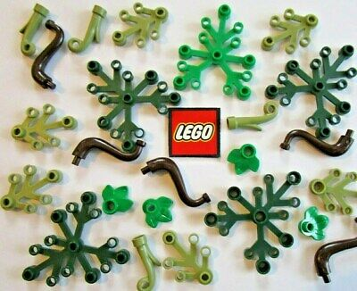 Lego PLANT Parts - Leaves, Grass, Trunks - Pick Your Own Items - Green Brown • 1.70£