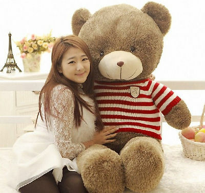 80CM Giant Huge Big Teddy Bear Stuffed Animals Plush Soft Toy Christmas Doll • 26.99£
