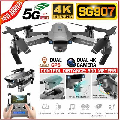 SG907 SG901 GPS With 4K HD Dual Camera 5G Wifi FPV Drone Follow Me RC Quadcopter • 96.98£