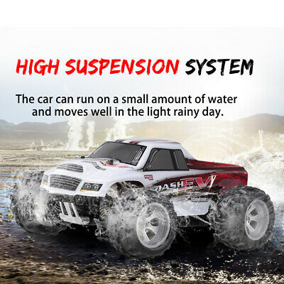 WLtoys A979-B 1/18 RC Car 4WD 70KM/H Supper HighSpeed RTR Big Foot Monster Truck • 49.54£