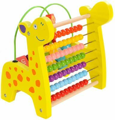 Wooden Abacus Number Frame Learning Math Toy Calculation Educational Teaching  • 17.95£
