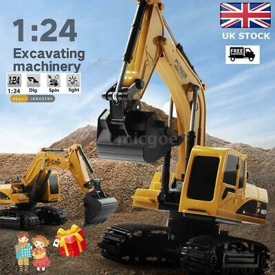 SALE! Remote Control Excavator RC Tractor Bulldozer Crawler Truck Toy Digger Car • 10.05£