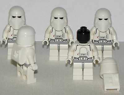 Lego New Lot Of 5 Star Wars Minifigure Minifig Snowtroopers Figures • 18.48£