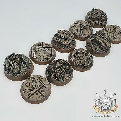 32mm Resin Bases, Sisters Battle, Sororitas, Ruined Sanctuary, Inquisition 40k, • 8£