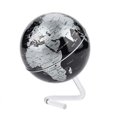 Wifehelper Desktop Globe Educational Rotating World Earth Silver  • 19.63£