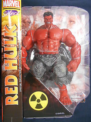 Marvel Select Red Hulk Action Figure Special Collector Edition • 29.99£