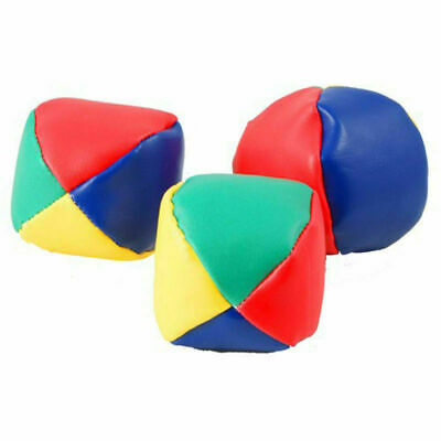 3/6/12/24 Juggling Balls Circus Clown Coloured Learn Juggle Toy Game Soft Ball • 4.49£